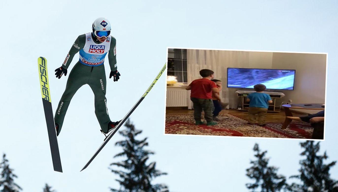 Nagranie wideo otrzymaliśmy na twoje@tvp.info (fot. Adam Pretty/Getty Images; TVP Info)
