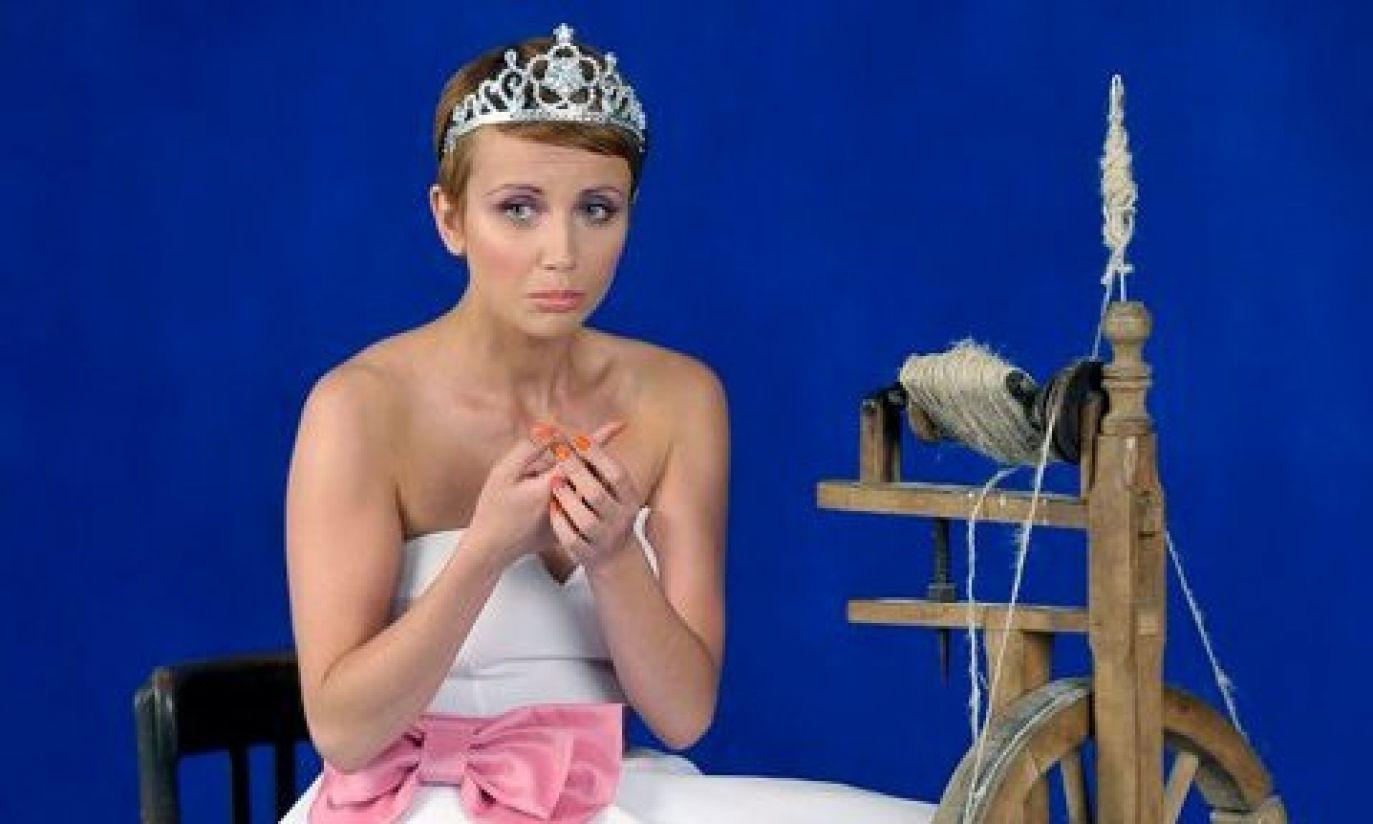 Katarzyna Zielińska odegrała rolę Śpiącej Królewny