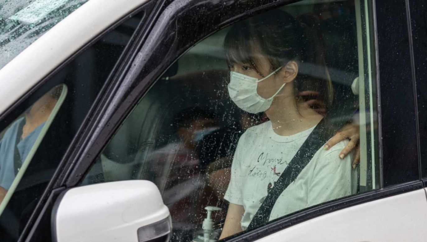 24-letnia Agnes Chow została w sobotę zwolniona z więzienia   (fot. PAP/EPA/JEROME FAVRE)