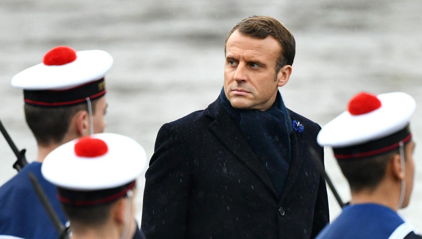 Premier oskarżył Emmanuela Macrona o nieodpowiedzialność (fot. Mustafa Yalcin/Anadolu Agency via Getty Images)