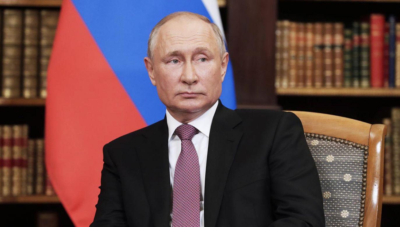 Władimir Putin (fot. Mikhail Metzel\TASS via Getty Images)