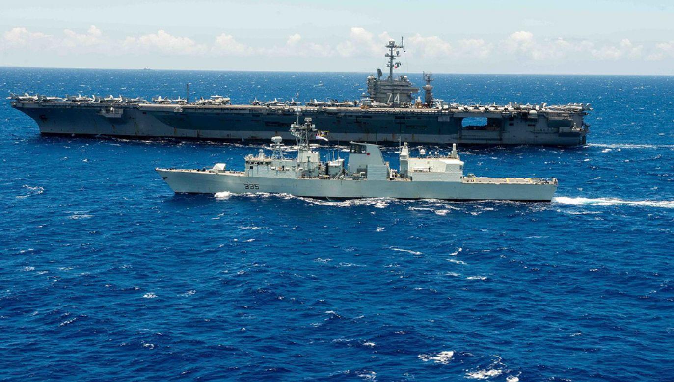 Kanada nie wyklucza wspólnej misji m.in. z USA w cieśninie Ormuz (fot. US Navy)