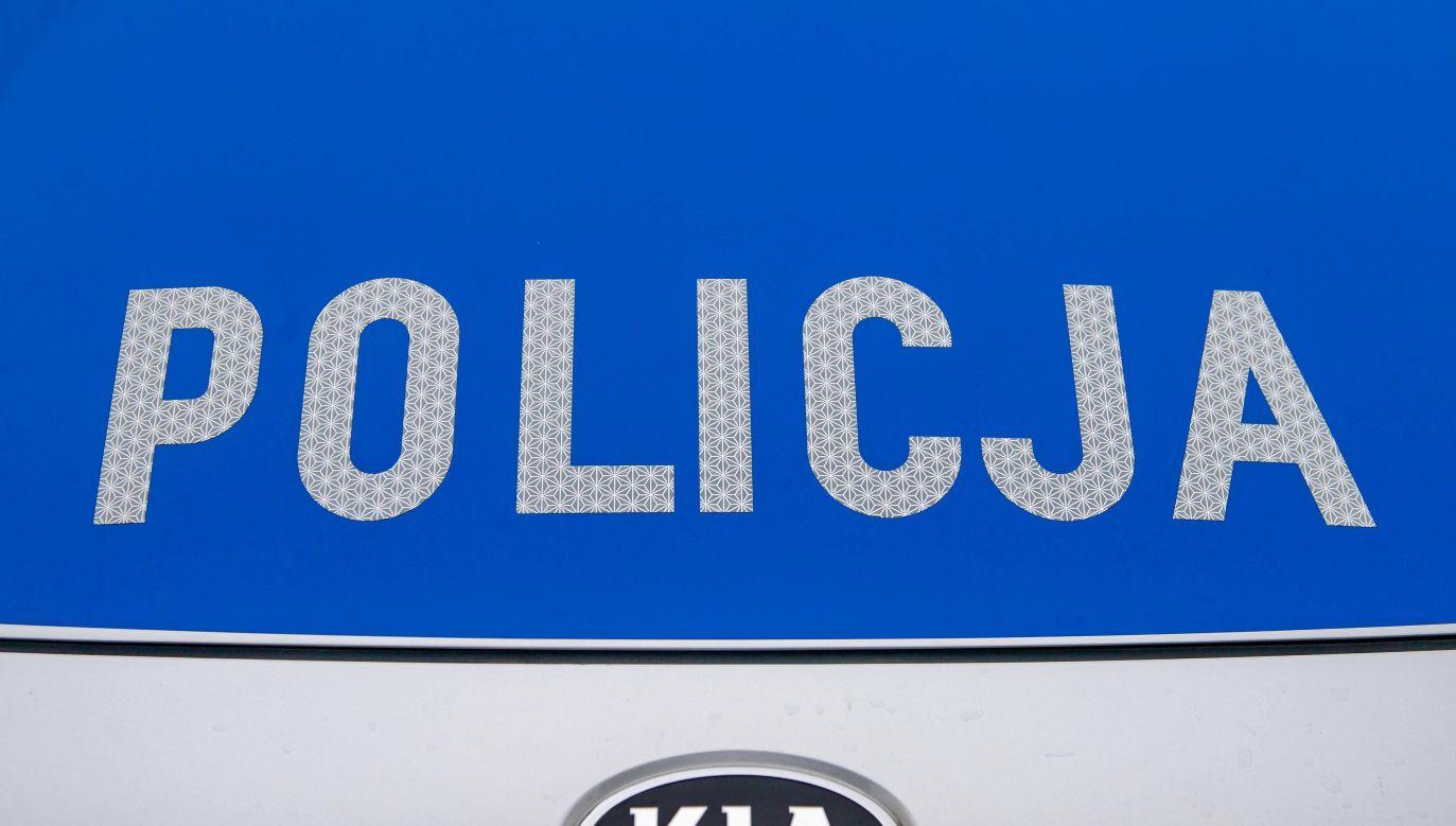 Policja szuka kierowcy (fot. Policja)