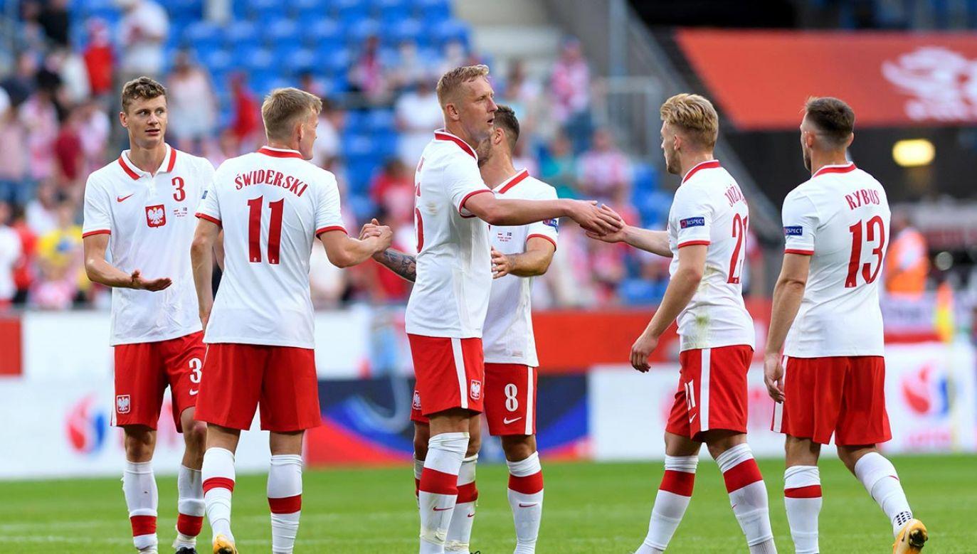 Początek meczu Polska – Słowacja o godz. 18.00 (fot. PAP/Jakub Kaczmarczyk)