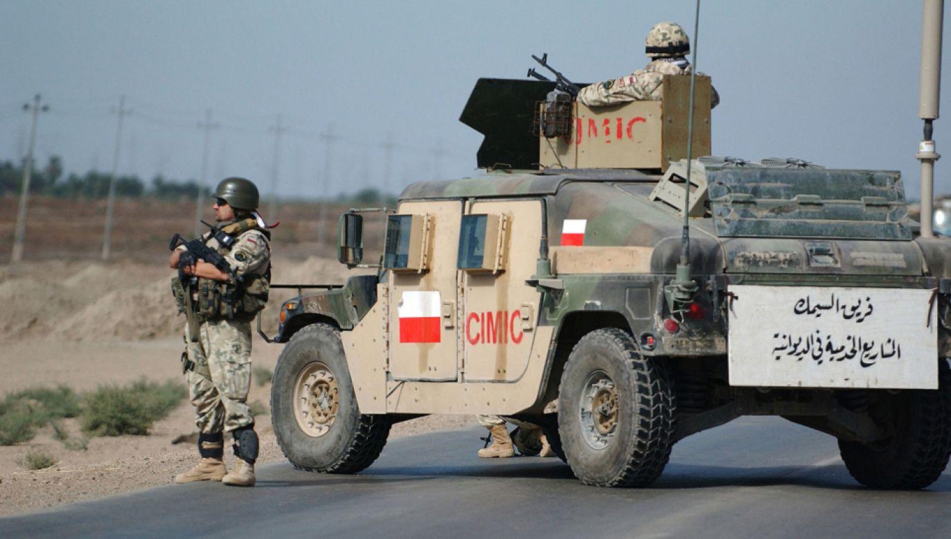 Irakijczycy są wdzięczni polskim żołnierzom za służbę (fot. Wiki/USAF/Tech. Sgt. Dawn M. Price)