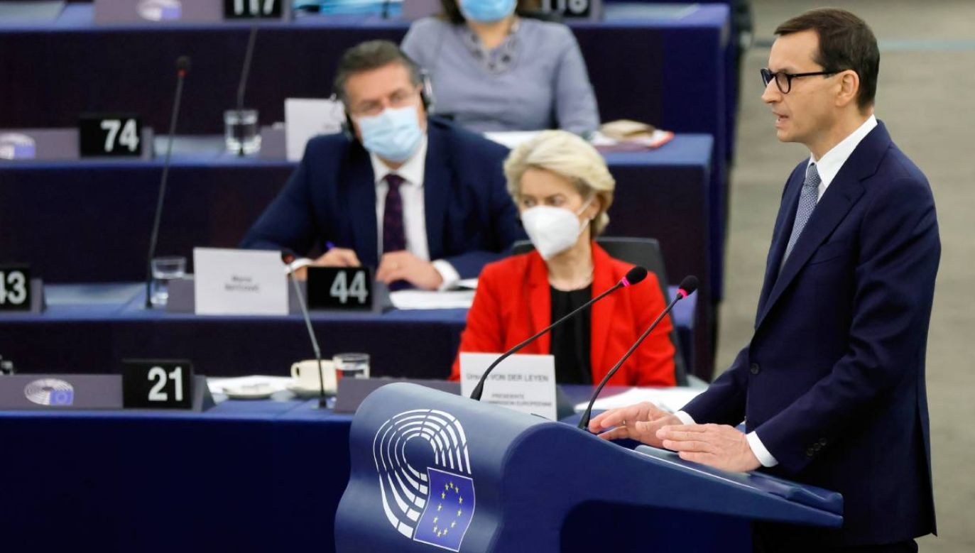 We wtorek w Parlamencie Europejskim odbywa się debata zainicjowana po wyroku polskiego Trybunału Konstytucyjnego (fot. PAP/EPA)