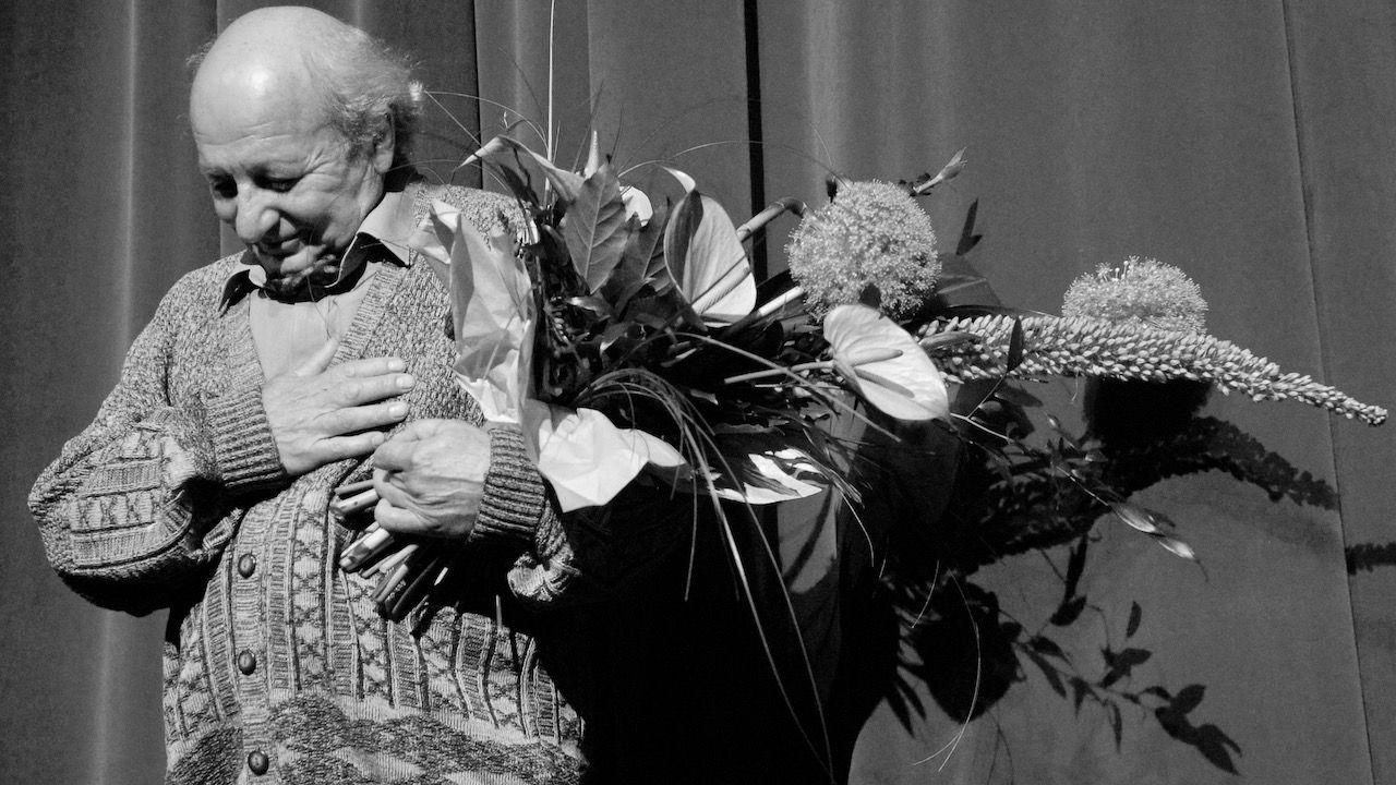 Jerzy Łapiński miał za sobą blisko 60 lat pracy aktorskiej (fot. arch.PAP/Andrzej Rybczyński)