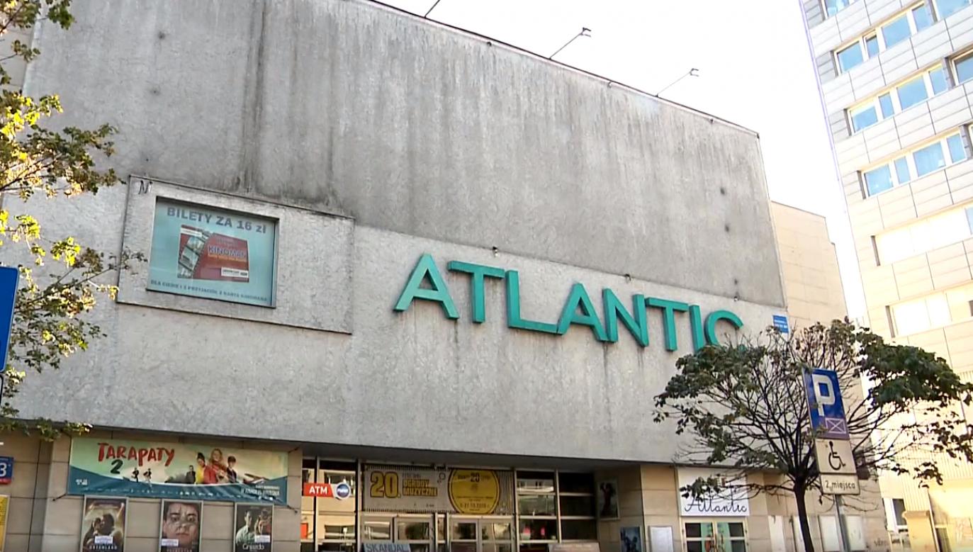 W tym roku kino skończyło 90 lat. Jest to najstarsze nieprzerwanie działające kino w stolicy (fot. TVP)