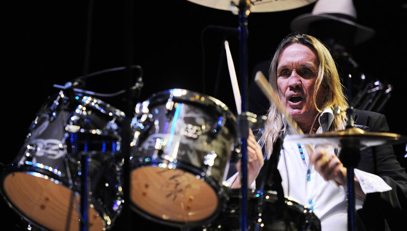 Nicko McBrain (fot. Larry Marano/Getty Images)