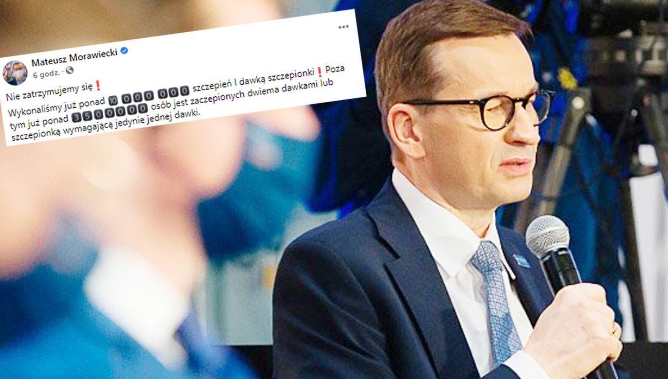 Premier Mateusz Morawiecki (fot. Krystian Maj/KPRM)