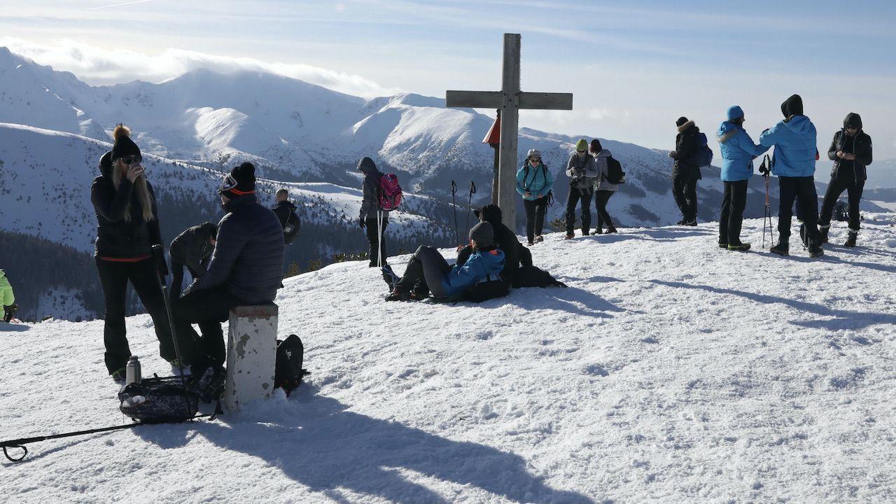 W Tatrach wciąż jest niebezpiecznie (fot. PAP/G.Momot)