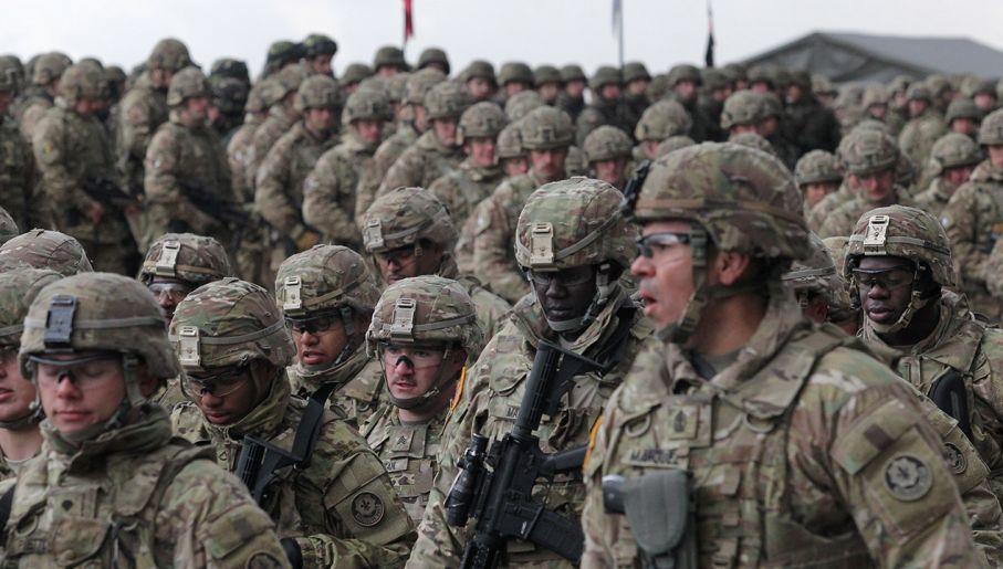 Spotyka się amerykańskich żołnierzy