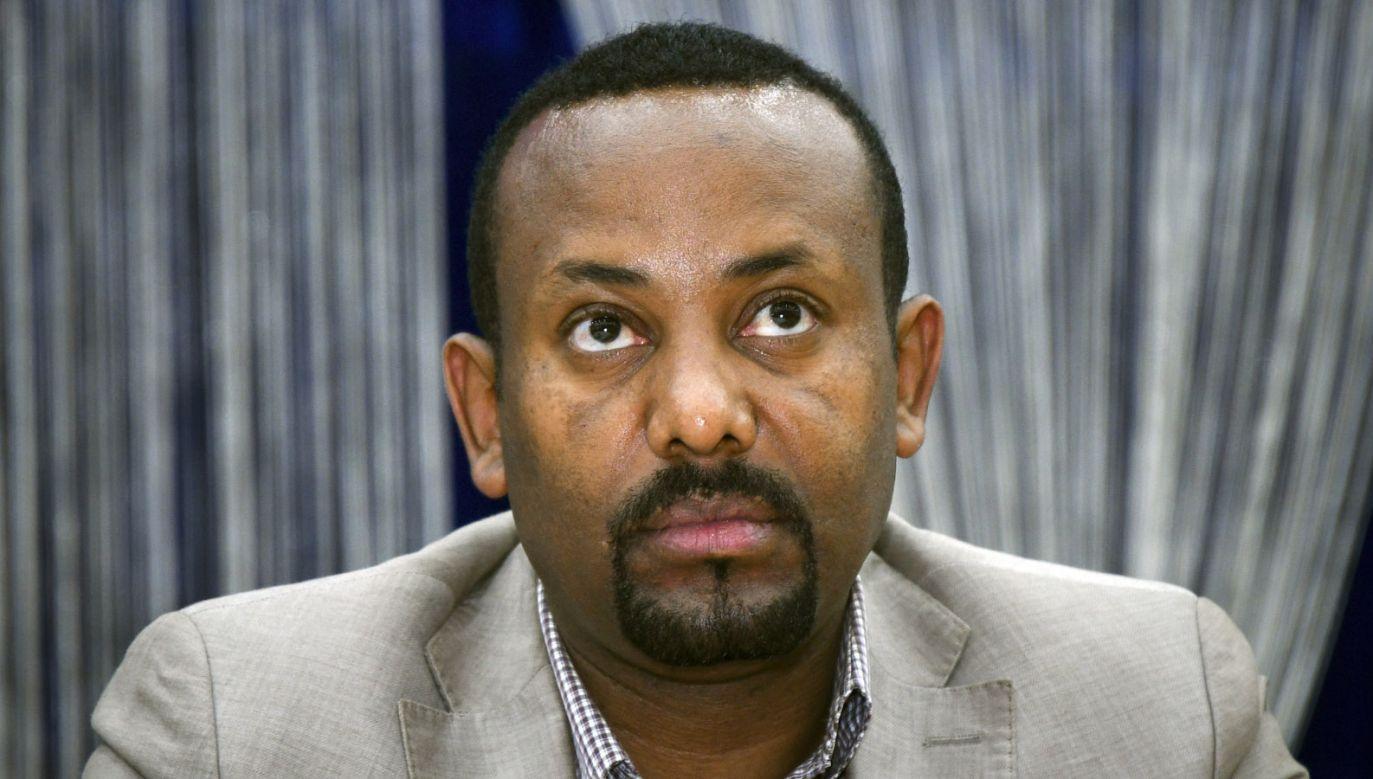 Premier Etiopii Ahmed Abiy (fot. PAP/ EPA/STR)