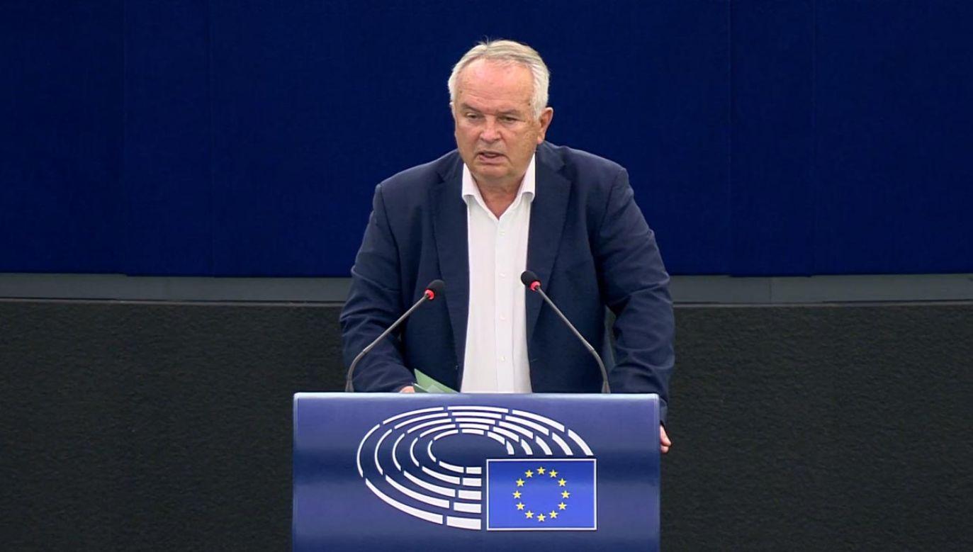 Miroslav Radačovský (fot. Parlament Europejski)
