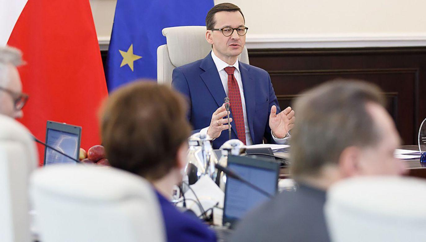 Premier przedstawił stanowisko Polski w sprawie handlu między UE i krajami Ameryki Południowej (fot. Krystian Maj / KPRM)