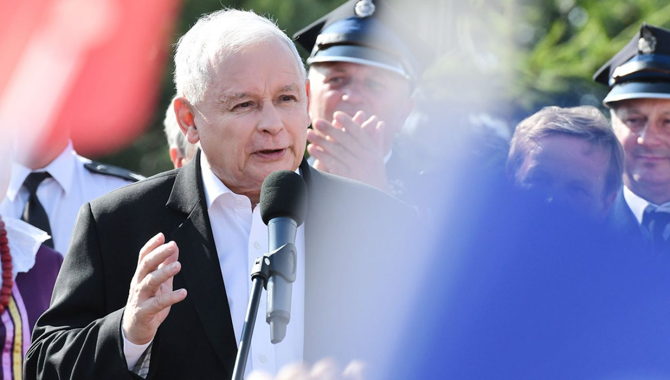 Zdaniem Schreibera Jarosław Kaczyński już nie raz pokazał, że jest najlepszym selekcjonerem w Polsce (fot. PAP/Piotr Polak)