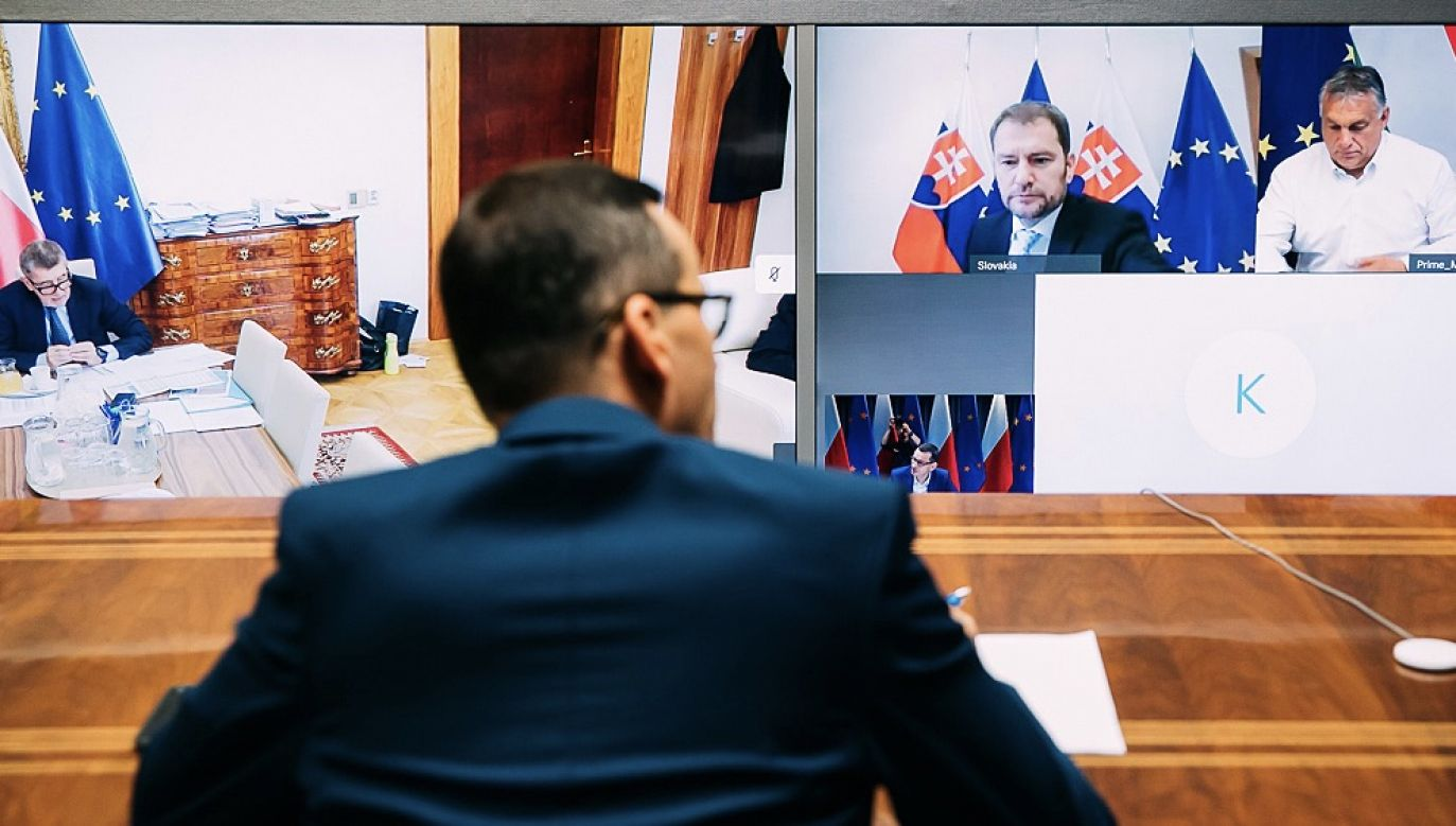 Prezydenci wydali wspólne oświadczenie (fot. Krystian Maj/KPRM)