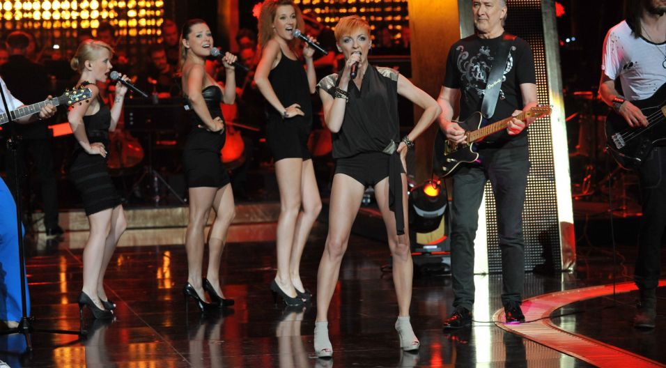Po oficjalnym zakończeniu działalności w zespole Łzy w 2010 roku, Ania całkowicie skupiła się na rozwoju solowych projektów (fot. TVP)
