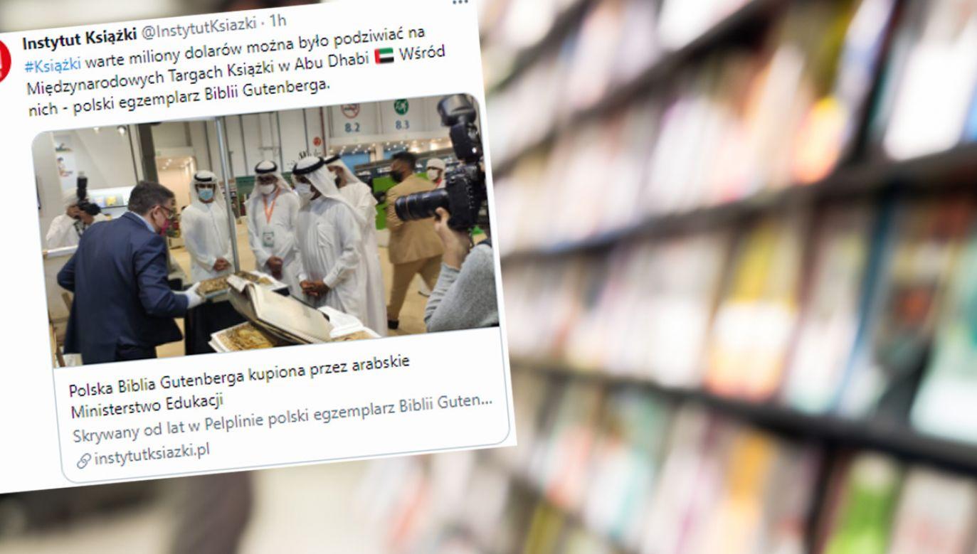 Emirackie Ministerstwo Edukacji zakupiło Biblię od polskiego Domu Emisyjnego Manuscriptum (fot. Shutterstock; TT/Instytut Książki)