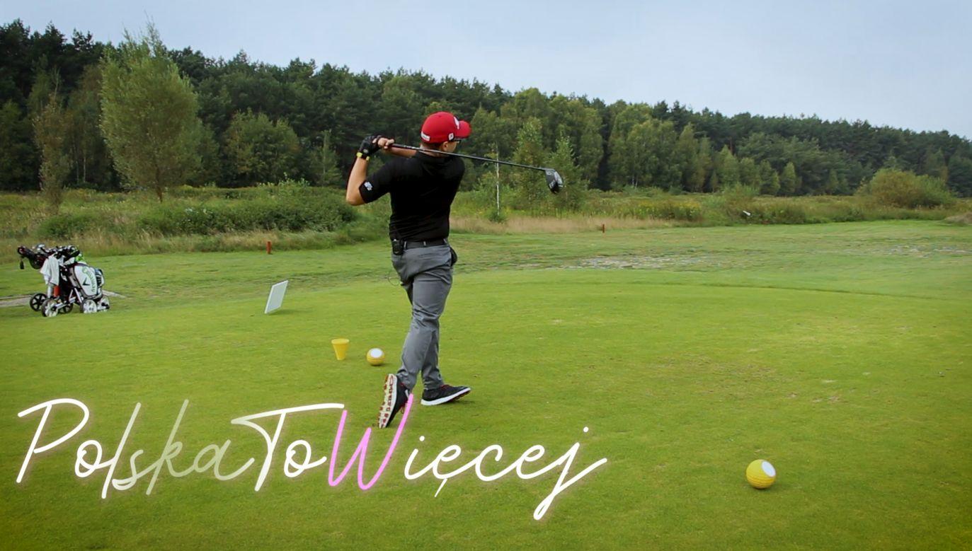 Pole golfowe w Sobieniach Królewskich (fot. portal tvp.info)