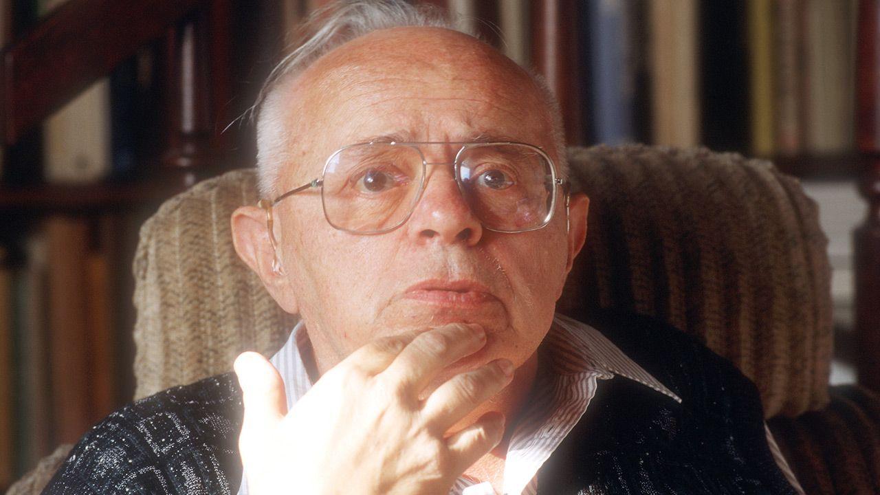 Stanisław Lem (fot.  Krzysztof Wojcik/Forum)