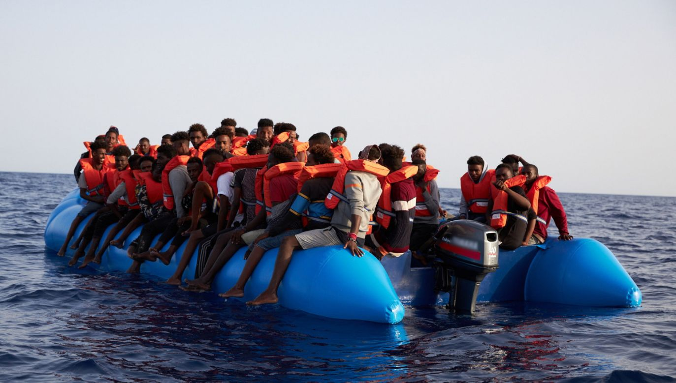W czwartek unijni ministrowie będą dyskutować o polityce migracyjnej w Unii Europejskiej (fot. EPA/FABIAN HEINZ)