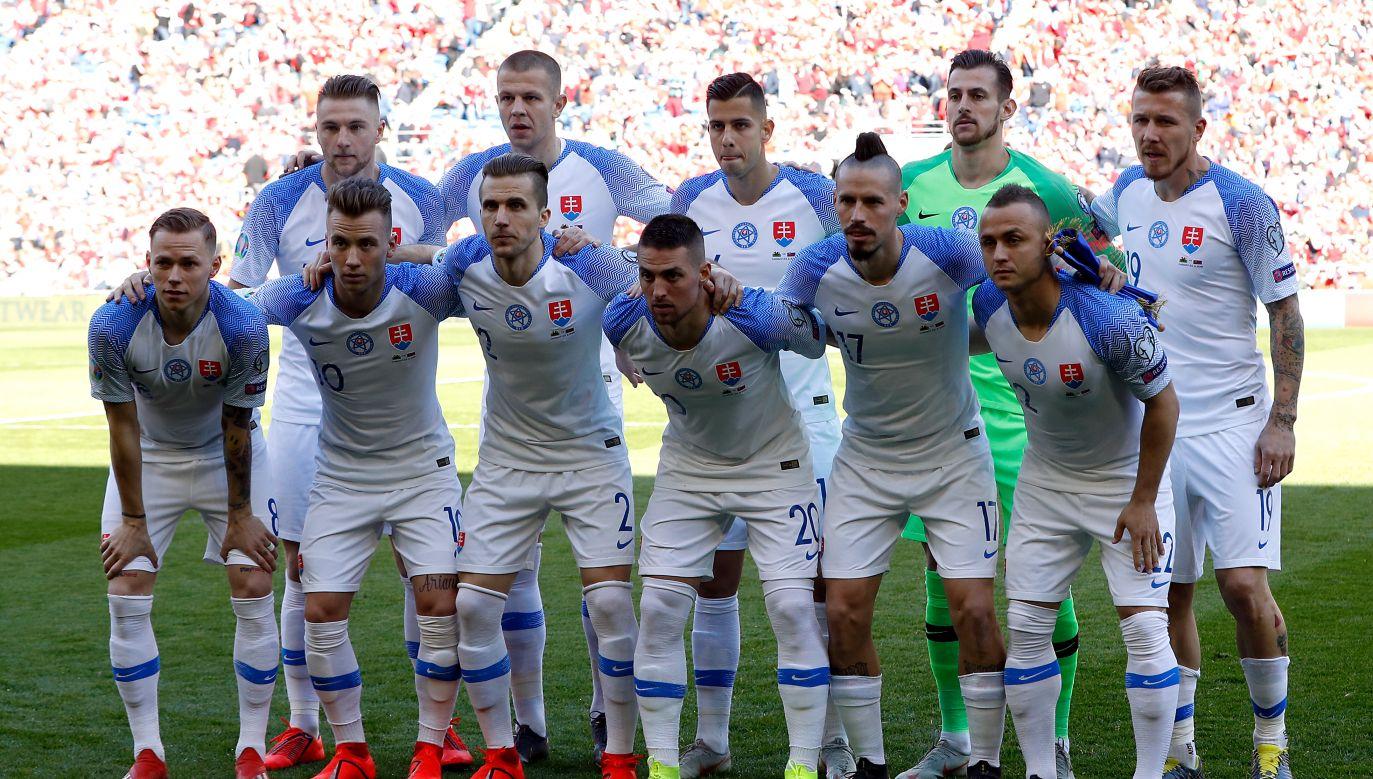 Reprezentacja Słowacji (fot. Getty)