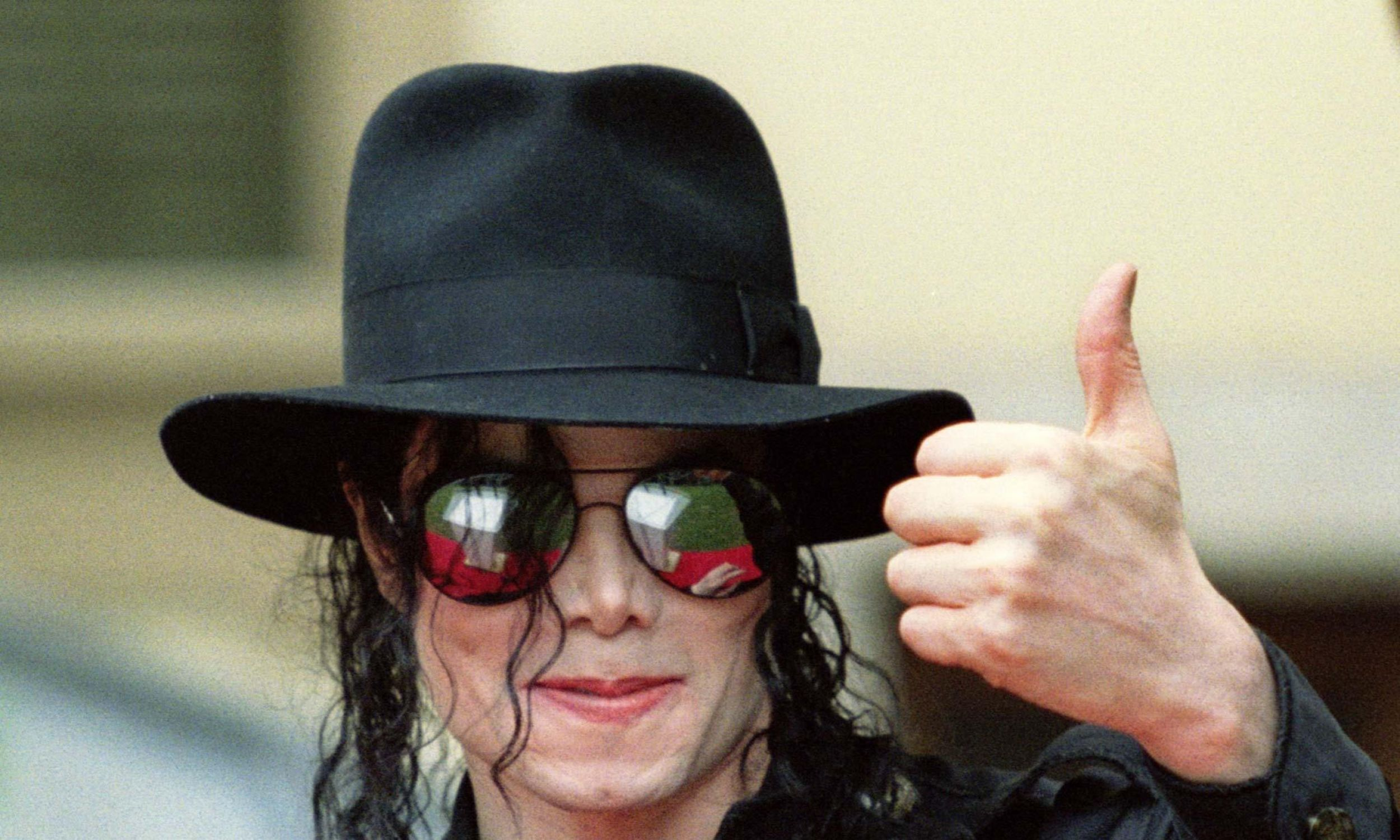 Gwiazda popu Michael Jackson w Lyonie, 1997 rok. Fot. REUTERS/ Robert Pratta