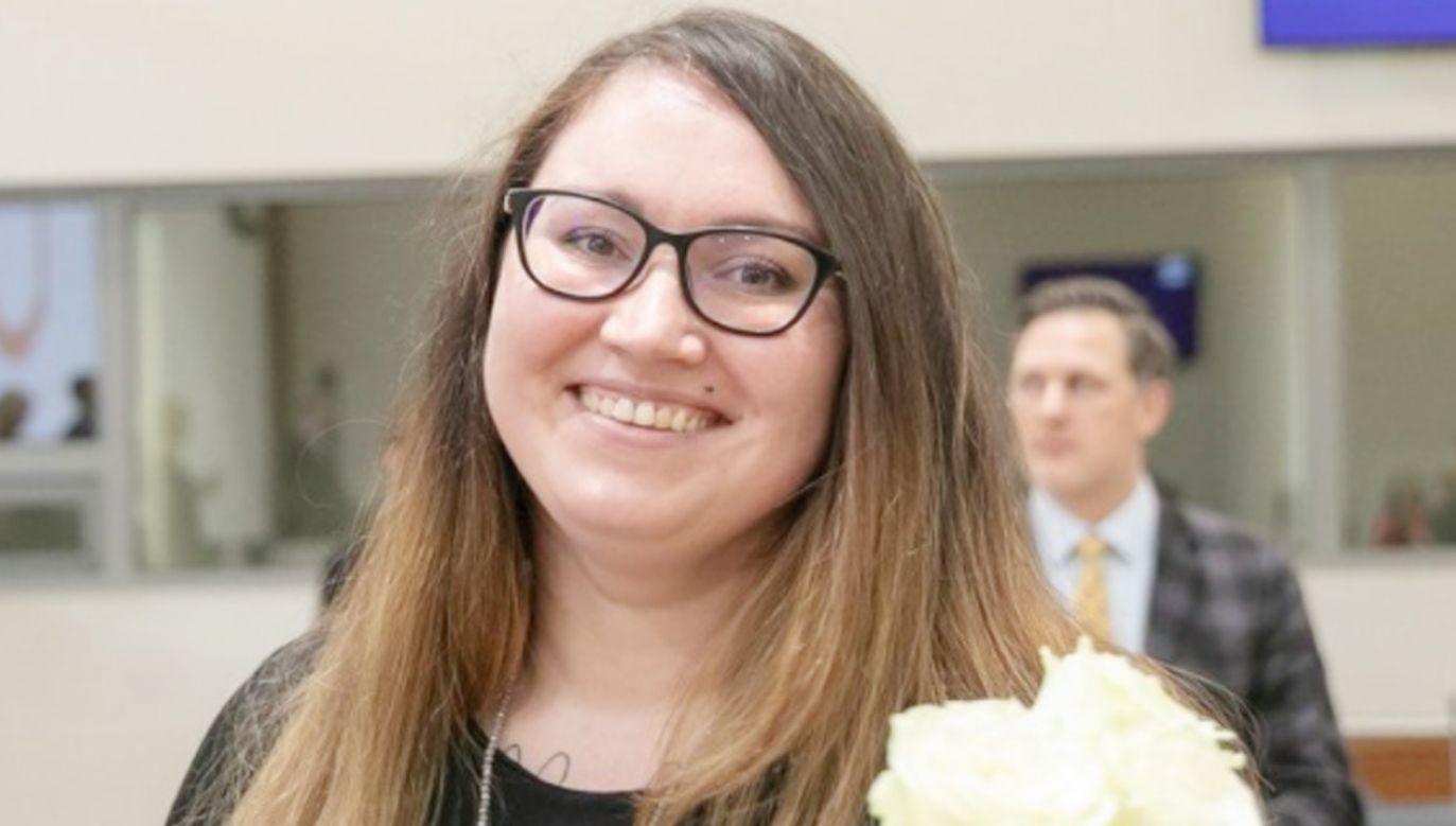 Przyszła 32-letnia minister znana jest jako obrończyni praw człowieka (fot. Facebook/Evelina Dobrovolska)