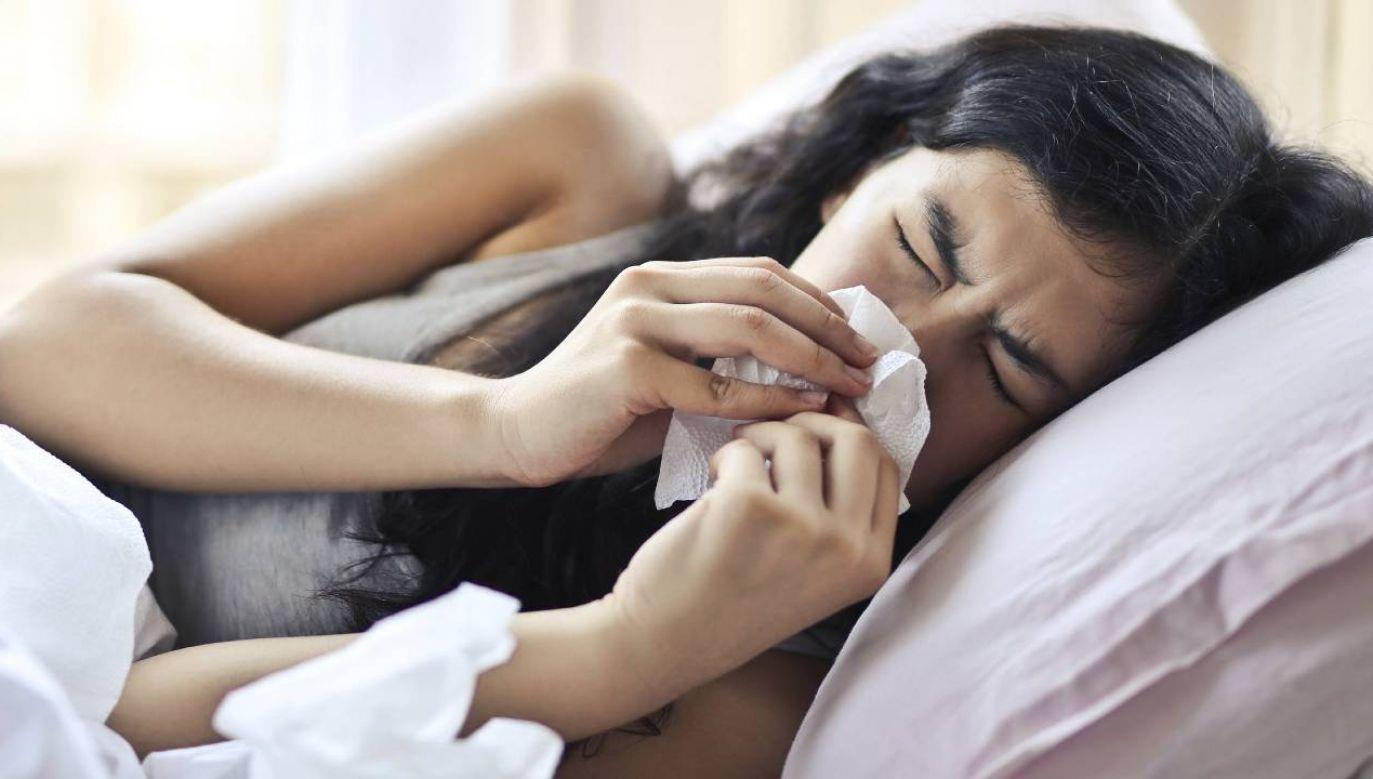 Alergia dotyka coraz więcej osób (fot. Pexels)