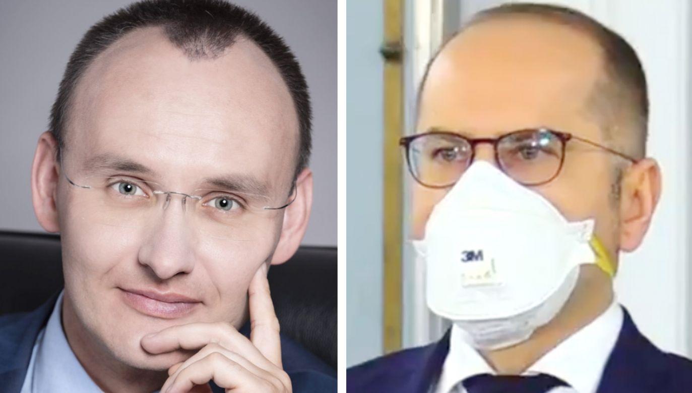 Mikołaj Pawlak i Michał Szczerba (fot. RPD; TT/Michał Szczerba)