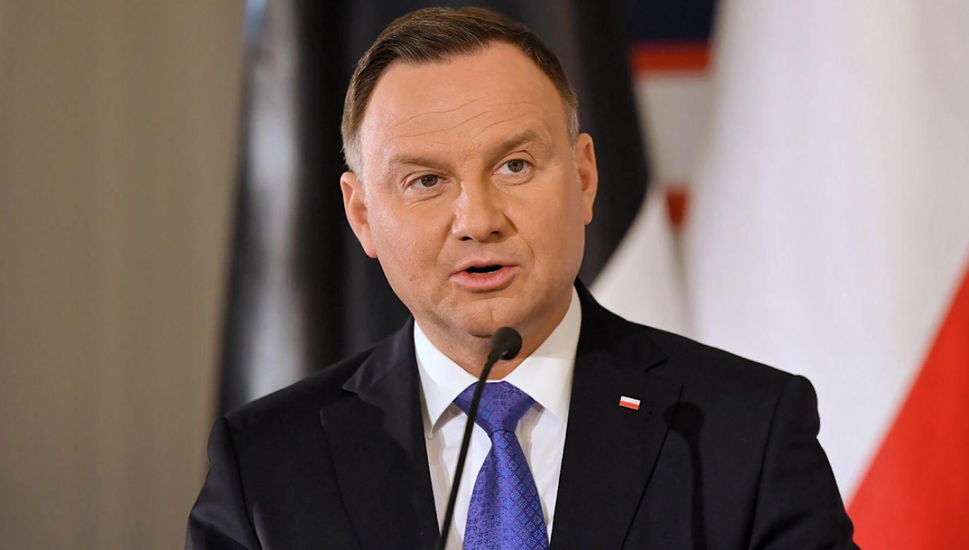 Przybliżamy szczegóły i nagrania ze sprawy, o której mówił prezydent Andrzej Duda (fot. PAP/Piotr Nowak)