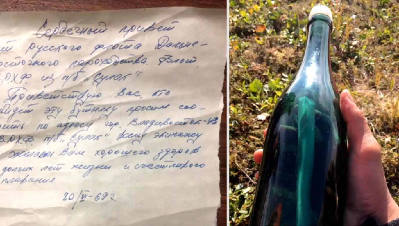 Mieszkaniec Alaski znalazł list z 1969 r. (fot. EBU)