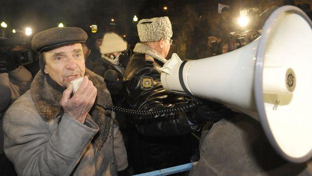 W ciągu ostatnich dwóch miesięcy Ponomariow został czterokrotnie ukarany grzywnami (fot. arch.PAP/ITAR-TASS)