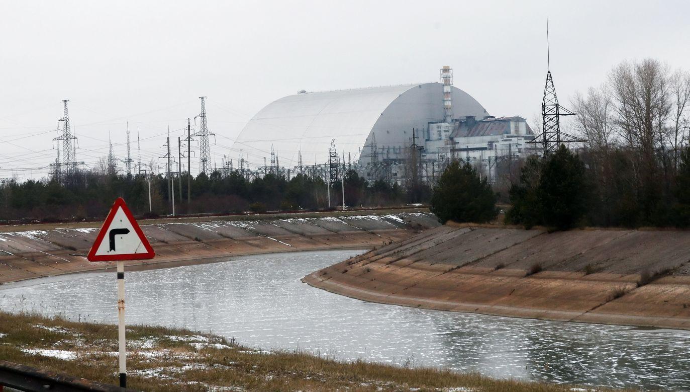 Elektrownia w Czarnobylu (fot.archPAP/EPA/SERGEY DOLZHENKO)