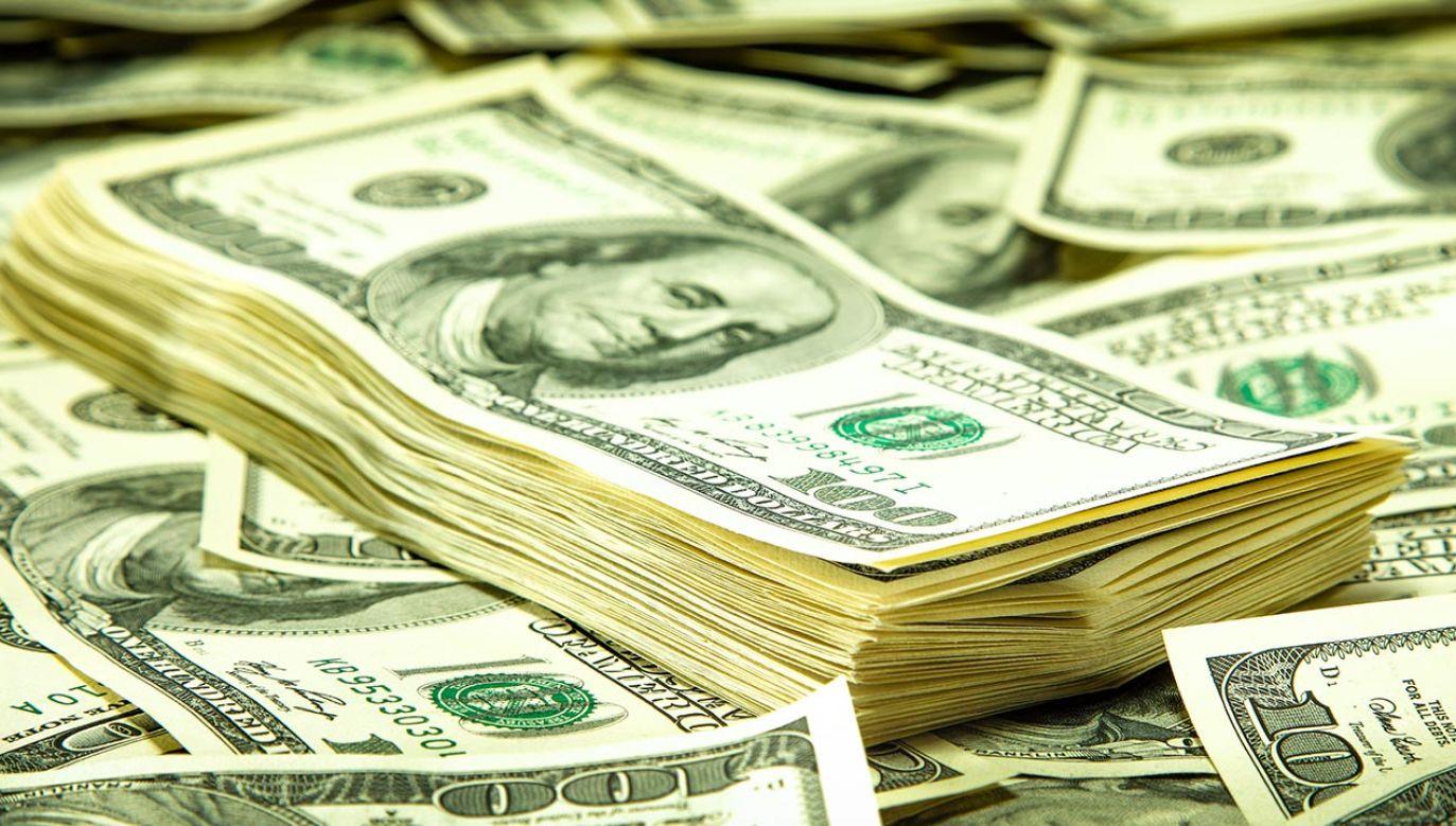 W workach było blisko milion dolarów (fot. SHutterstock/ S_Photo)