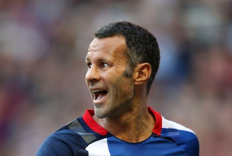 Kapitanem Brytyjczyków podczas igrzysk będzie 38-letni Ryan Giggs (fot. Getty Images)