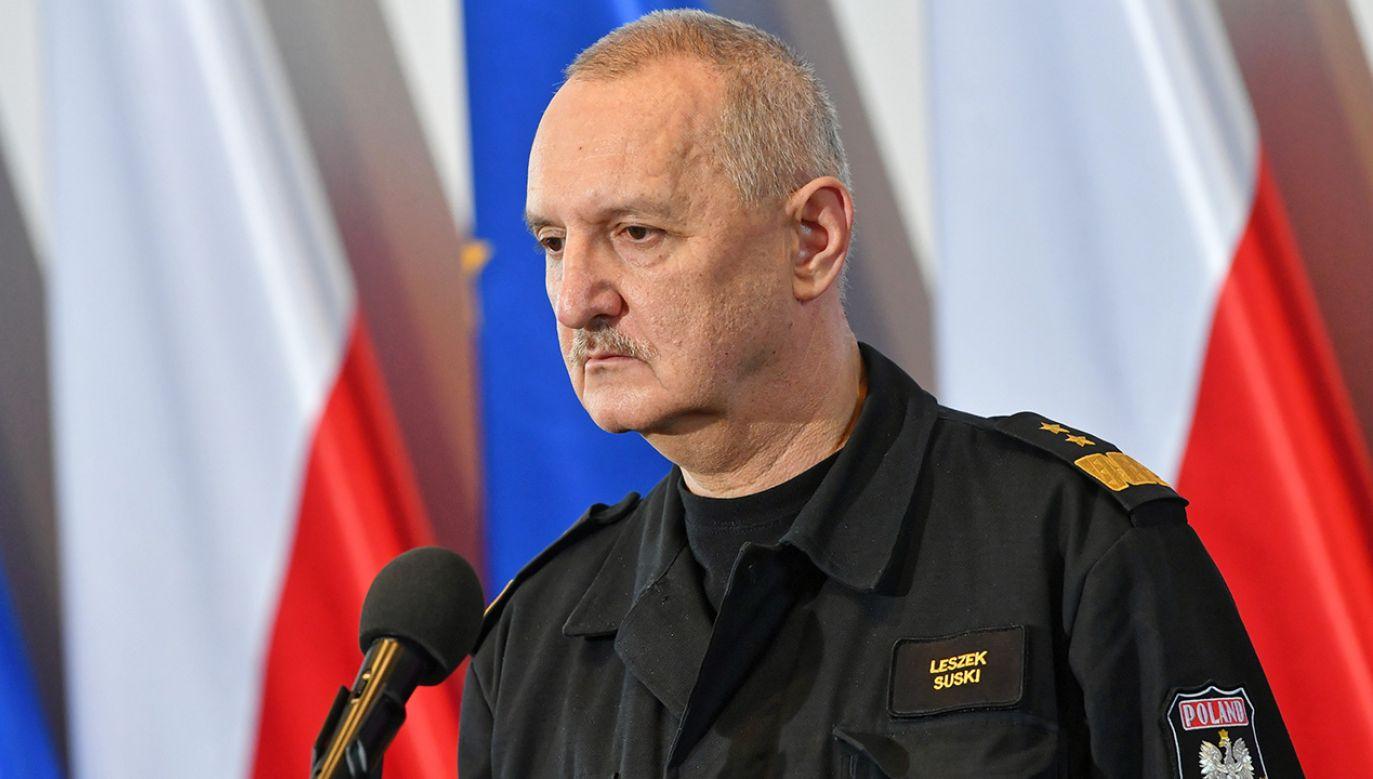 Gen. brygadier Leszek Suski (fot. arch. PAP/Bartłomiej Zborowski)