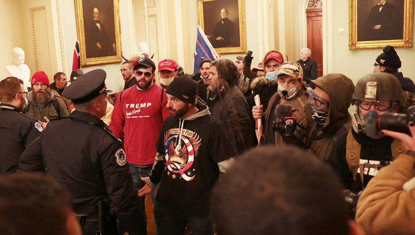 Do tej pory aresztowany został co najmniej jeden z nich (fot. Win McNamee/Getty Images)