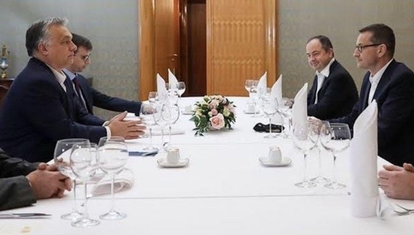"""Spotkanie ws. """"praworządności"""" (fot. Adam Guz/KPRM)"""