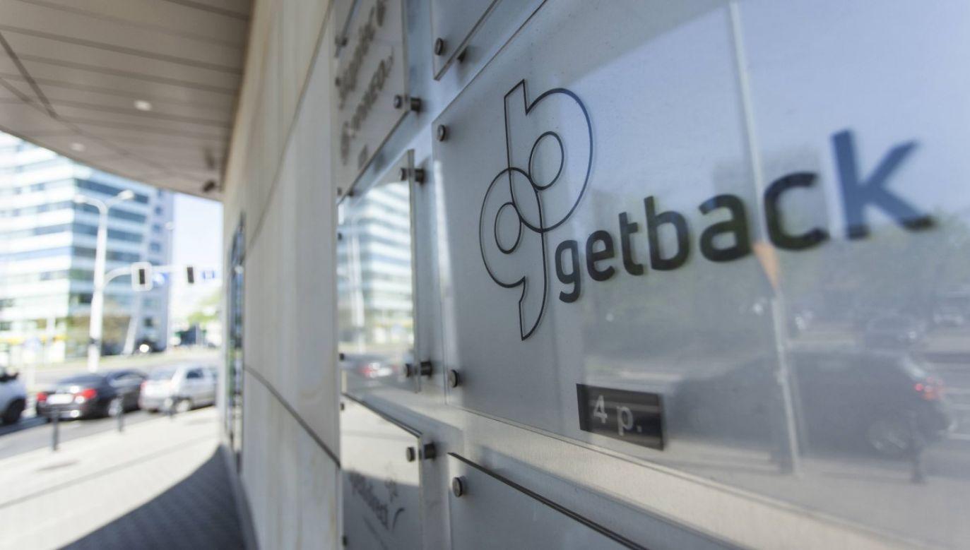 Siedziba firmy Getback w budynku przy ulicy Powstańców Śląskich we Wrocławiu (fot. arch. PAP/Aleksander Koźmiński)