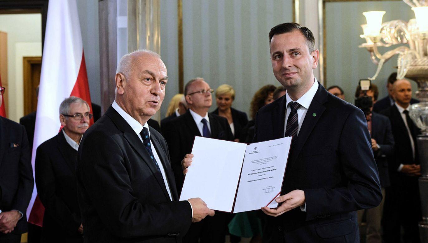 Władysław Kosiniak-Kamysz zaczyna drażnić swoich sojuszników (fot. PAP/Radek Pietruszka)
