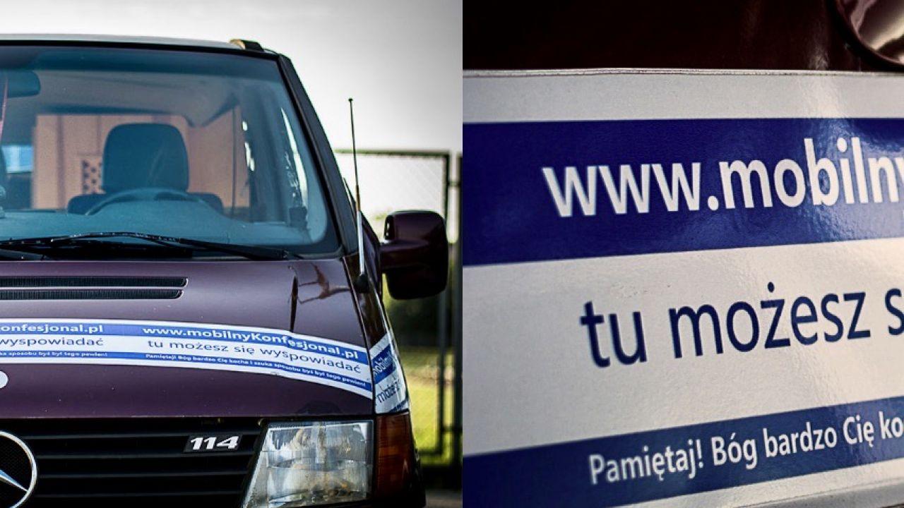 Inicjatywa trwa już od 2014 r. (fot. www.mobilnykonfesjonal.pl)