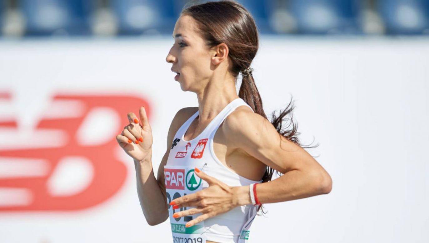 Bardzo dobry wynik Polki nie dał jej jednak medalu  (fot.Adam Nurkiewicz/Getty Images)