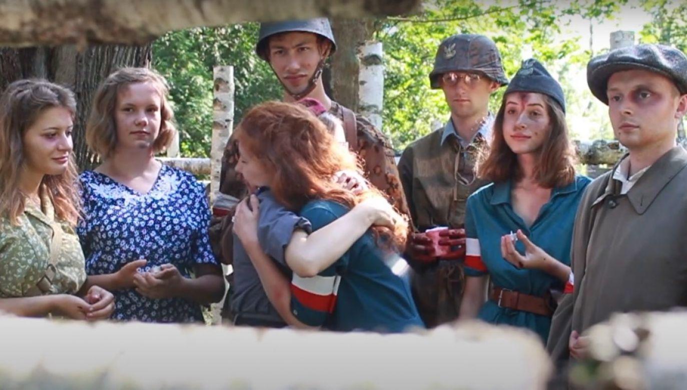 Młodzi harcerze chcieli udostępnić film krótkometrażowy o Powstaniu Warszawskim szerszej publiczności w internecie (fot. youtube/prinscreen)