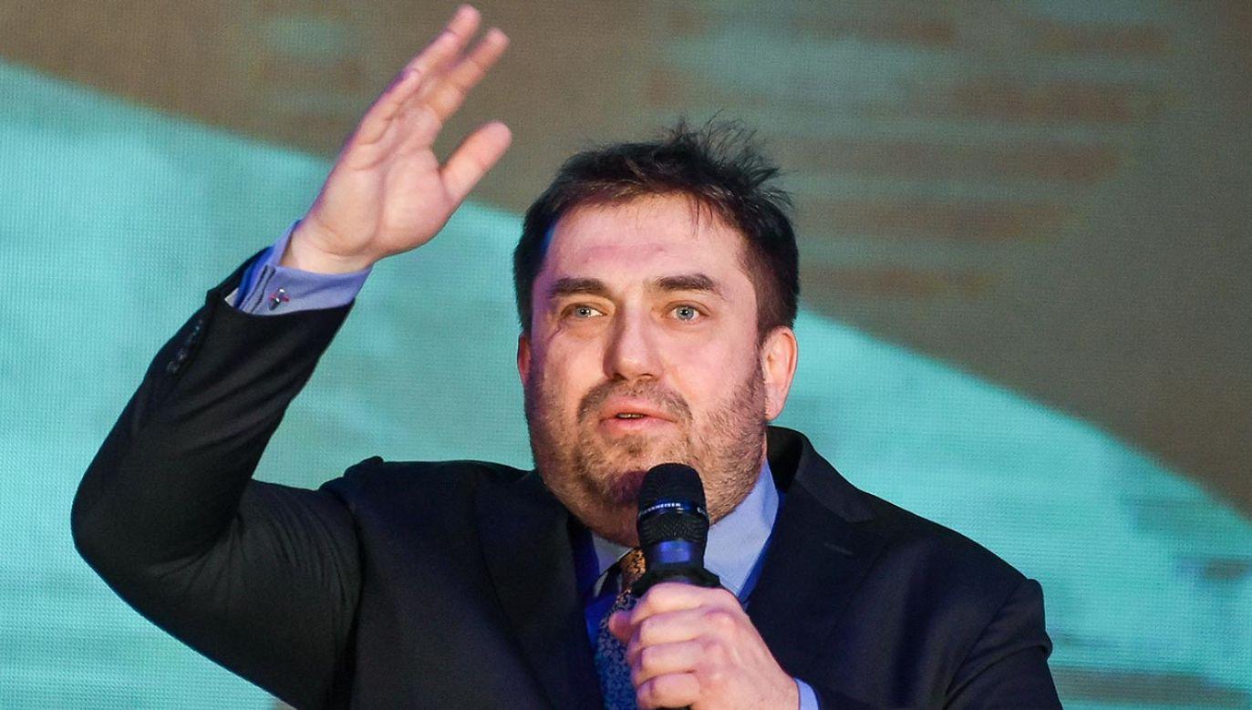 Bartosz Węglarczyk (fot. Forum/ Lukasz Dejnarowicz)